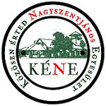 KÉNE – Közösen Érted Nagyszentjános Egyesület Logo